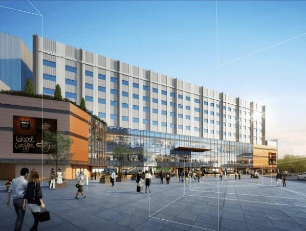和光市駅前南口ビル開発計画